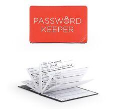 Kikkerland Mini Password Keeper Folding Log Book Reminder Diary Oraganiser Gift