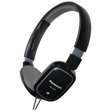 Panasonic RP-HX40-K Light Weight On Ear Monitors RPHX40 Black /GENUINE