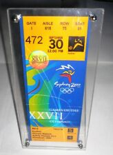 2000 Olympic Games Sydney Men's Football FINAL Ticket 30/9/2000 SPAIN-CAMEROON!!