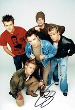 Brian McFADDEN WESTLIFE SIGNED Autograph Photo 1 AFTAL COA Irish Pop Star