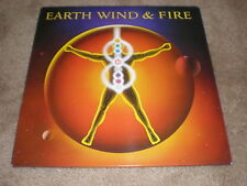 Earth Wind & Fire LP Powerlight JAPAN/INSERT