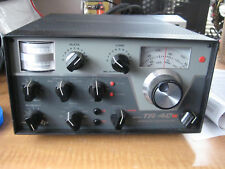 RARE DRAKE TR4-CW HF TRANSCEIVER WITH NOISE BLANKER / RIT w /power supply