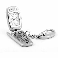 Miniature Mobile Phone KeyChain Novelty Quartz Movement Collectors Clock 5770343