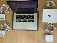 """MacBook Pro 15"""" 2.5Ghz i7 - 512GB SSD - 16GB - 2015 A1398 + Time Capsule + etc."""