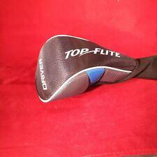 Top Flight Driver Golf Club Head Cover Black & Blue