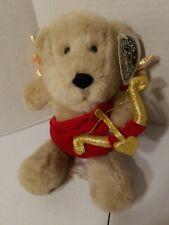 Starbucks Bearista Bear #13 2001 Valentine Cupid Costume Plush