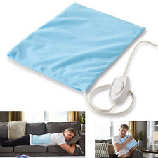 Electric Heating Pad Joint Care Back Pain Relief Sunbeam Dry Moist Heat Therapy