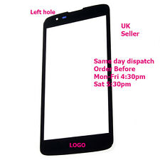 LG K7 MS330 LS675 Front Outer Glass Touch Screen Lens Panel Black + tools