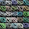 Lots Rondelle Faceted Czech Big Crystal Glass Loose Beads Jewelry 4/6/8/10MM