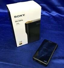 SONY Digital Audio Player Walkman WM 1 Series Black NW-WM1A Japan