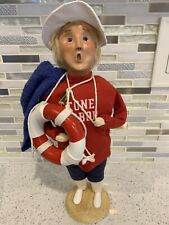 Byers Choice Carolers Nautical Series Stone Harbor Nj Jersey Shore Man Lifeguard