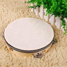 """063A Tambourine Drum 8 Tamborine NEU Percussion """"20cm"""