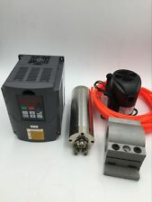 800 W Router Fresatura CNC Spindle Motor ER11 24000 RPM & 1.5 KW VFD INVERTER STAFFA