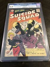 Brave And The Bold 25 1st Suicide Squad Rick Flag CGC 3.5 DC Silver Age Key
