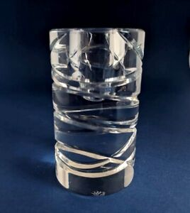 Lovely Royal Doulton Contemporary Glass Candle Holder