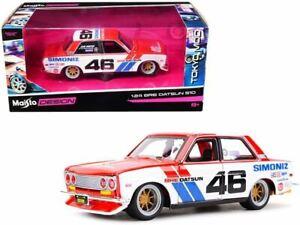 "1:24 Datsun 510 -- #46 ""Simoniz"" BRE (Brock Racing Enterprises) -- Maisto Design"
