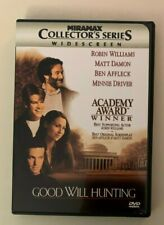 Good Will Hunting (DVD, 1998, Collectors Series) Robin Williams