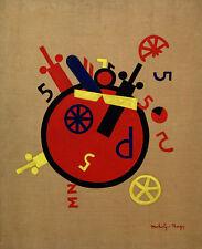 La PITTURA Moholy-Nagy GRANDE MACCHINA delle emozioni XXL poster Wall Art Print LLF0367