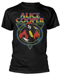 Alice Cooper 'Snake Skin' Black T-Shirt - NEW & OFFICIAL!