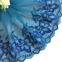 Lace Trim Sewing Floral Embroidered Wedding Dress Handicrafts DIY Doll Clothes