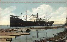 Mahongany Lumber on Ship Lewis Thompson Co Philadelphia & Astoria Long Island