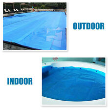 7 Spa Hot Tub Swim Pool Cover 600um Thermal Solar Blanket Cover Heat Retention