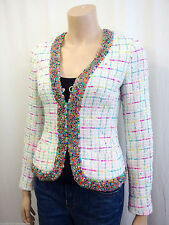 Karierte Damenjacken & -mäntel im Sonstige Jacken-Stil mit Baumwollmischung für Business