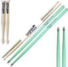 Agner Drumsticks 5A UV Glow Sticks leuchtend Glowsticks + KEEPDRUM Drumsticks 5A