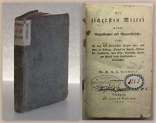 Neumaier Mittel wider Magenkrampf und Magenschwäche 1821 Heilkunde Medizin xz