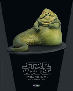 ATTAKUS Star Wars Episode VI Jabba the Hutt Limited Edition Elite Collection