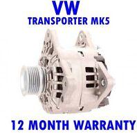 VW TRANSPORTER MK5 MK V 2.0 2003 2004 2005 2006 2006 - 2015 ALTERNATOR