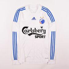 Adidas Trikot Jersey Gr.S FC Copenhagen Kopenhagen 13/14 Longsleeve Weiß 100277