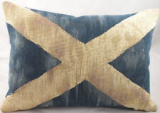 Scottish Flag Tapestry Cushion 100% Cotton 18 x 13 inches At Andrew Scotland
