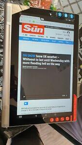 LENOVO YOGA TAB 2 PRO 1380F 13.3in screen inbuilt Projector 32GB WiFi+4G unlock