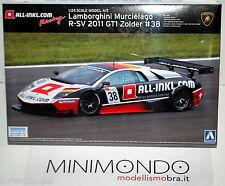 KIT LAMBORGHINI MURCIELAGO R-SV 2011 GT1 ZOLDER 1/24 AOSHIMA 00718 718