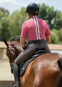 Ice Fil® Lite Short Sleeve Riding Shirt - Rose