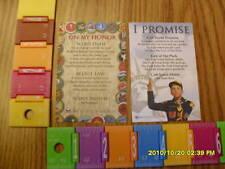 BSA BOY & CUB SCOUT OATH/PROMISE/LAW POCKET CARDS NEW!!