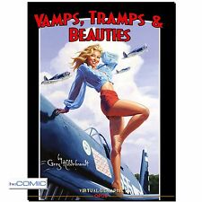 Vamps, Tramps & Beauties ART BOOK Greg Hildebrand COMIC GRAPHICS EROTIK 50er