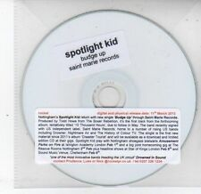 (DS340) Spotlight Kid, Budge Up - 2013 DJ CD