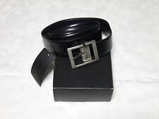 Cintura uomo nera Calvin Klein 110-125