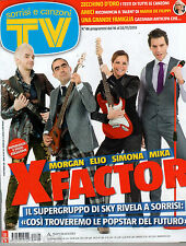 TV SORRISI E CANZONI=N°46 22/11/2013=X FACTOR=AMICI DI MARIA DE FILIPPI=GASSMAN
