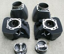 Harley Davidson Twin Cam Heads and Cylinders Black