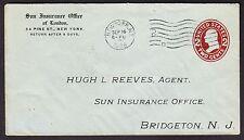 Sun Insurance Office Advertising Cover (-611)