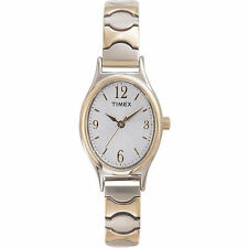 Timex T26301, Women's Two-Tone Cavatina Expansion Watch, T263019J