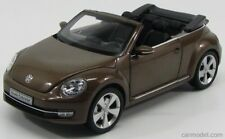 VOLKSWAGEN 2013 NEW BEETLE CABRIOLET in TOFFEE BROWN by Kyosho  KYO-8812TB