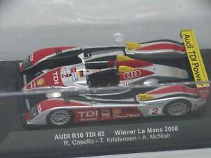Audi R10TDI  Winner Le Mans 2008 1/43 Ixo en boite originale