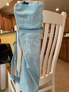 Gaiam Yoga Mat Bag - Light Blue