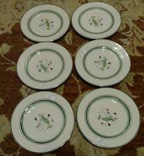 6 Syracuse China Old Ivory Coralbel Bread Plates