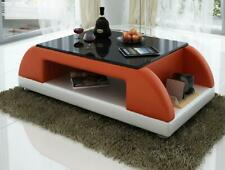 Modern Couch Pads Leather Table Living Room Side Glass Tables Coffee Design