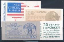 [34464] Sweden Good lot 4 complete booklets Very Fine MNH
